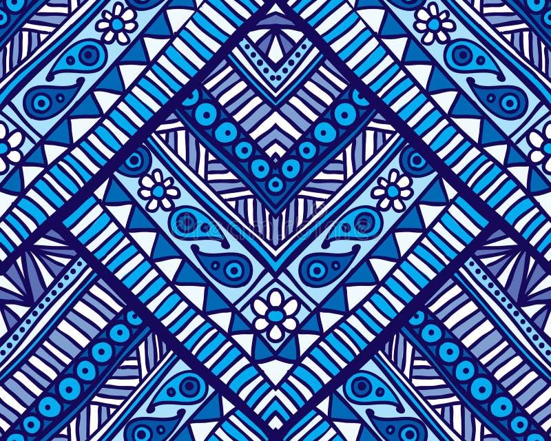Download Reticolo Senza Giunte Geometrico Illustrazione Vettoriale - Illustrazione di ornamento, retro: 55362225