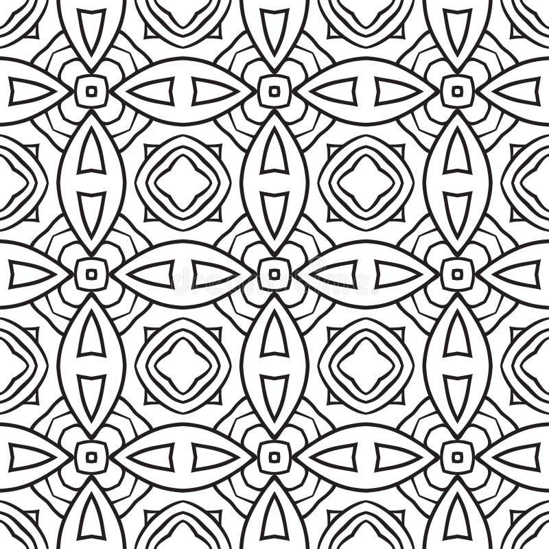 reticolo senza giunte geometrico illustrazione di stock