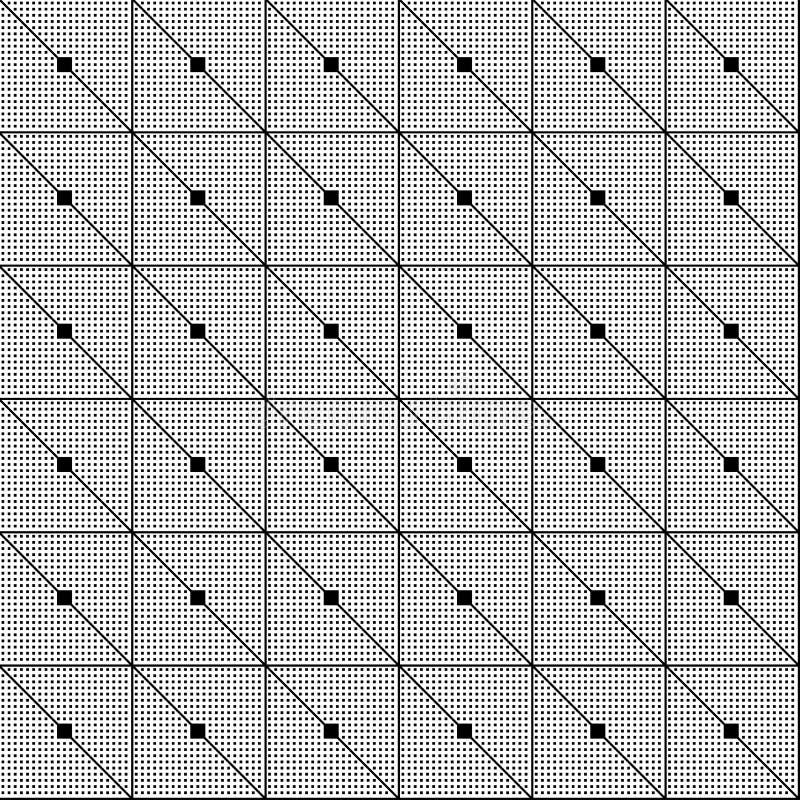 Reticolo senza giunte Geometrico astratto   illustrazione di stock
