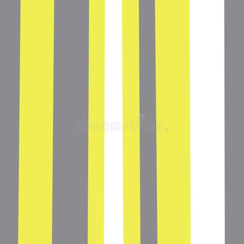 Reticolo senza giunte geometrico astratto Bande verticali Carta da imballaggio Stampa per interior design e tessuto Contesto in a illustrazione vettoriale