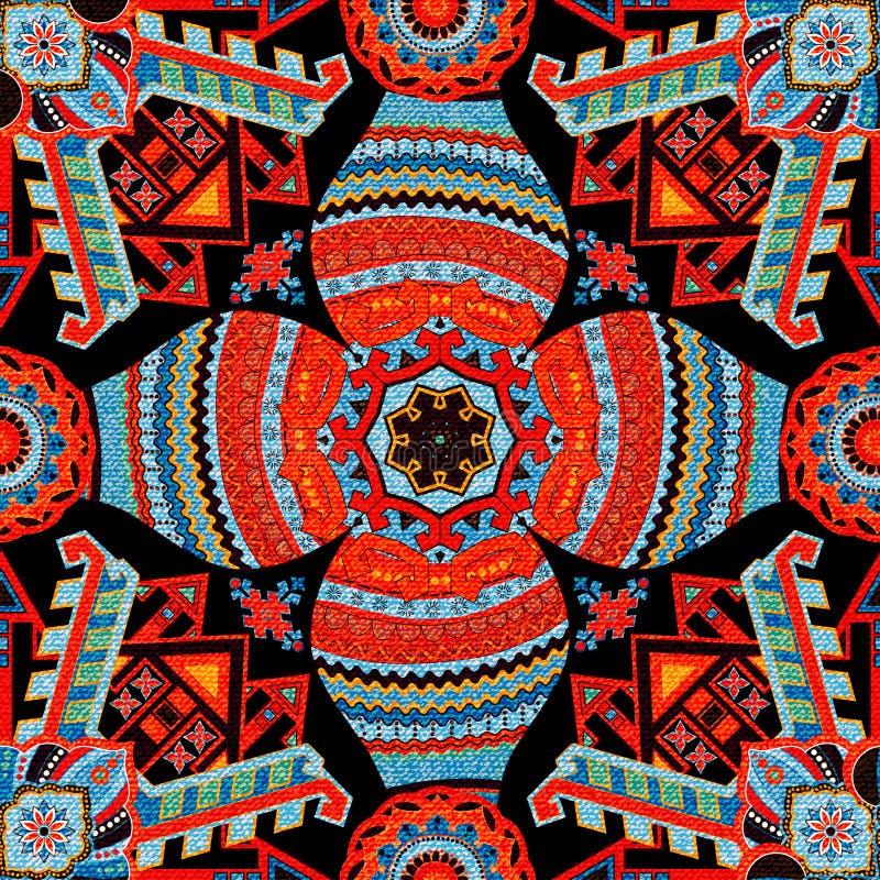 reticolo senza giunte geometrico carta da parati etnica