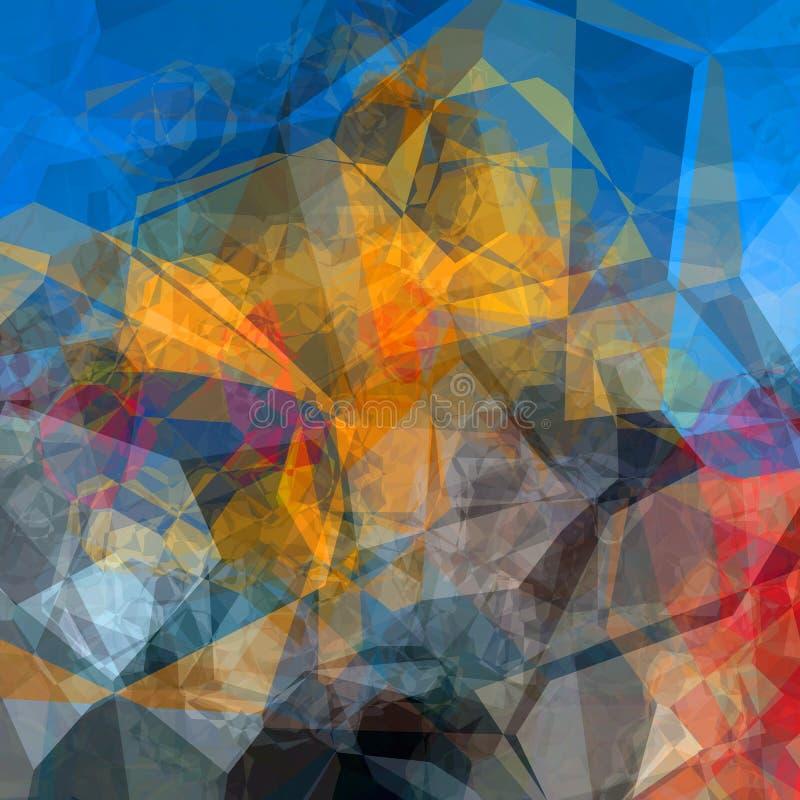 Download Reticolo triangolare illustrazione di stock. Illustrazione di elemento - 56877499