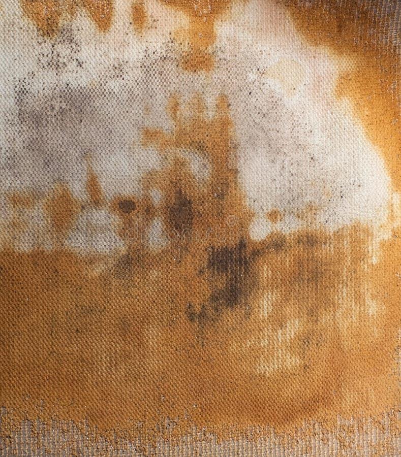 Reticolo usato della coperta della stanza da bagno fotografie stock