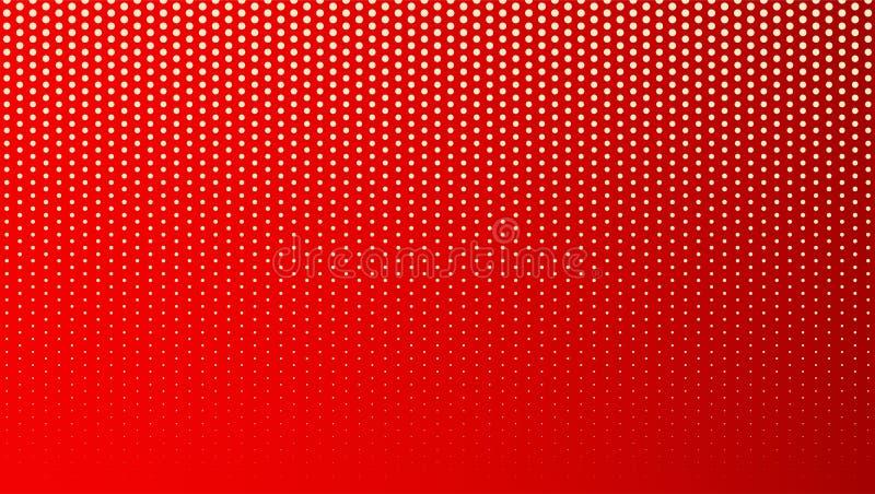 Reticulação colorida abstrata, fundo minimalistic dos pontos Contexto cômico do estilo, PNF de intervalo mínimo do inclinação art ilustração royalty free