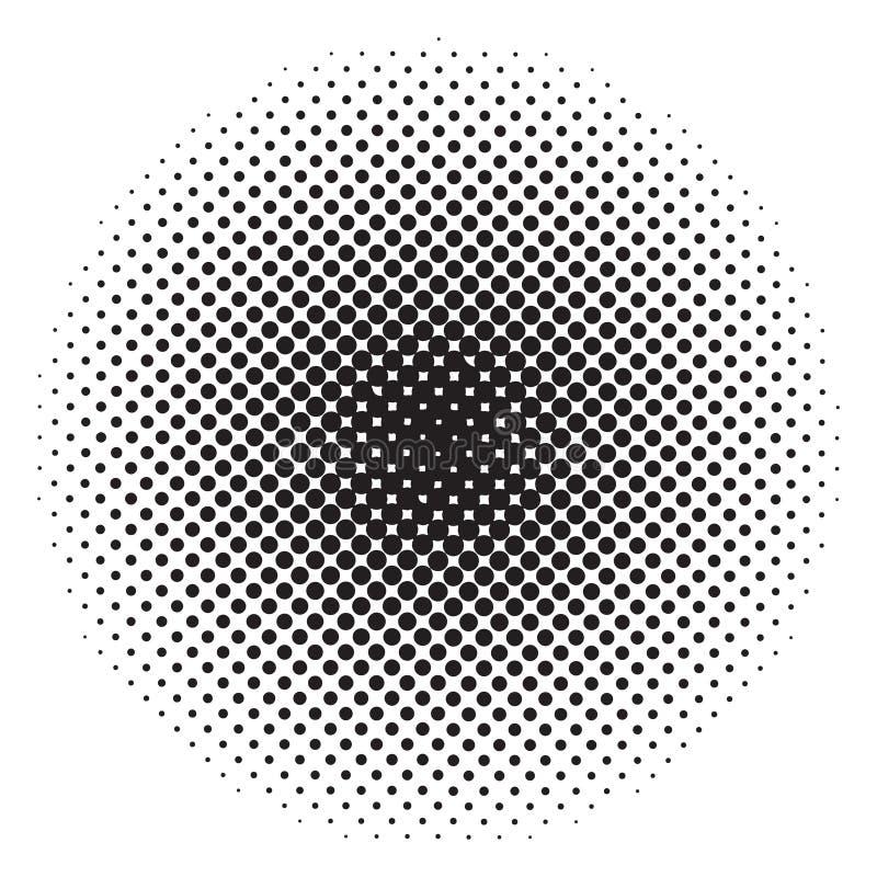 Reticulação do círculo Fundo abstrato para seu projeto ilustração stock