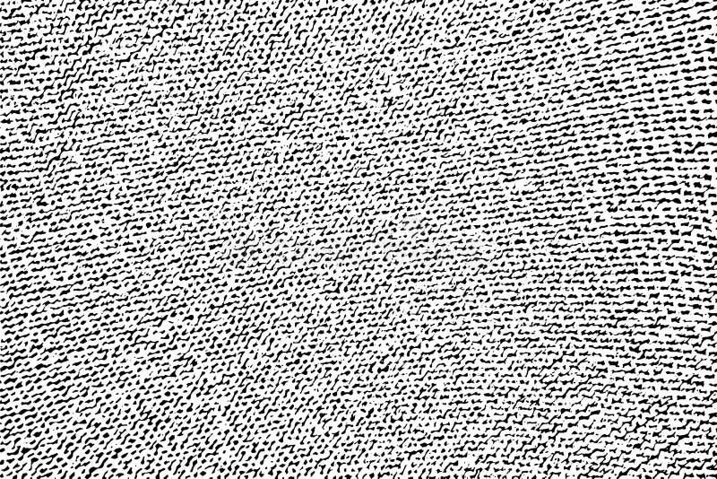 Reticulação feita malha textura da tela do Grunge ilustração royalty free