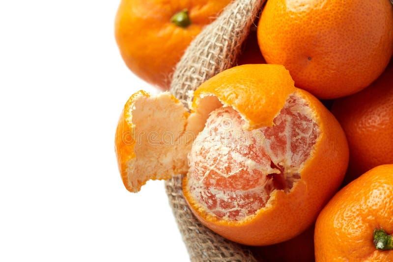 Reticulata de la fruta cítrica de la mandarina fotografía de archivo