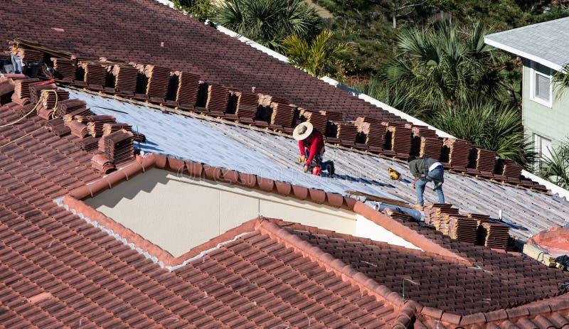 Retilo de techo foto de archivo libre de regalías