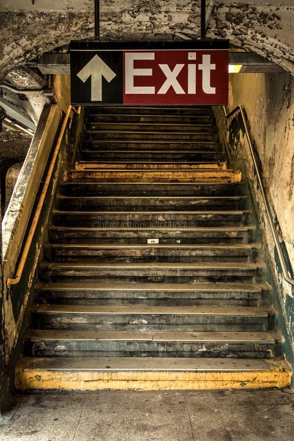 Retire do metro fotos de stock