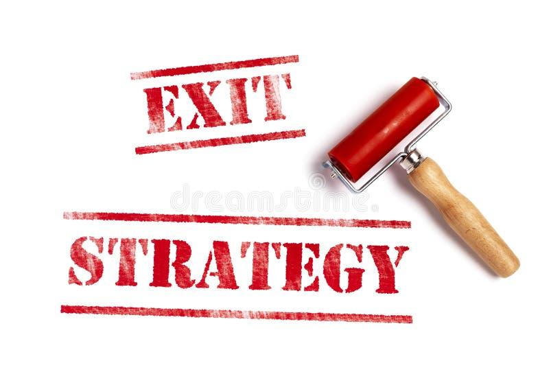 Retire a estratégia ilustração do vetor