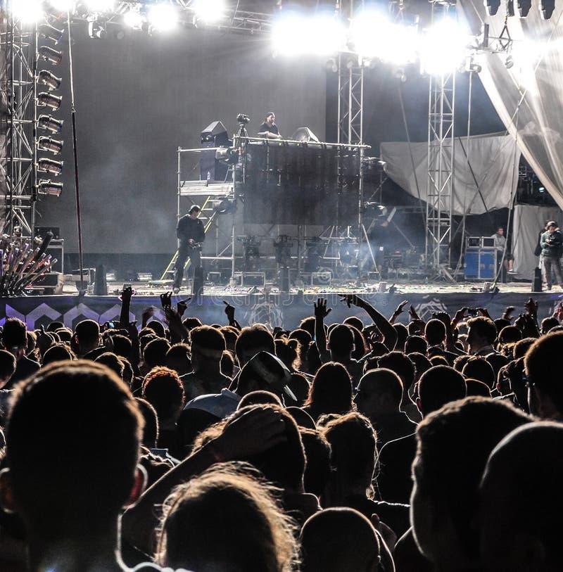 RETIRE o festival de música 2013 fotografia de stock