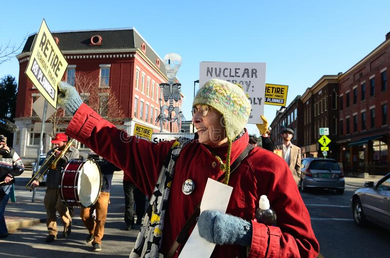 Download Retire Vermont Yankee Rally Editorial Stock Image - Image: 27931129