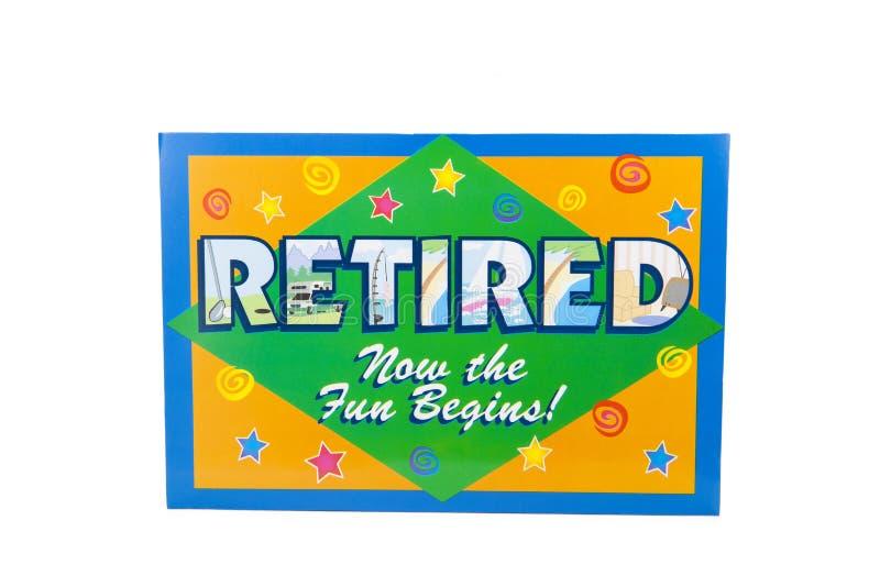 retired obrazy stock