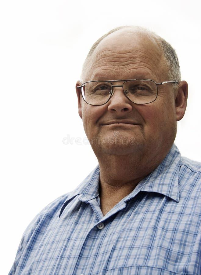 Retired Man royalty free stock image