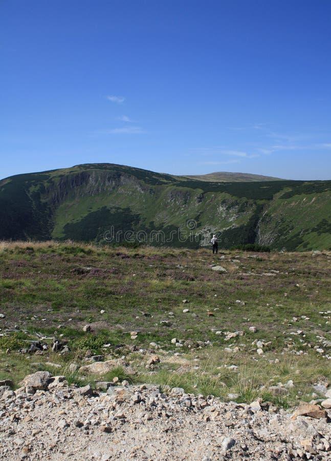 Download Retired Man Walking Mountains Stock Photo - Image: 15745130