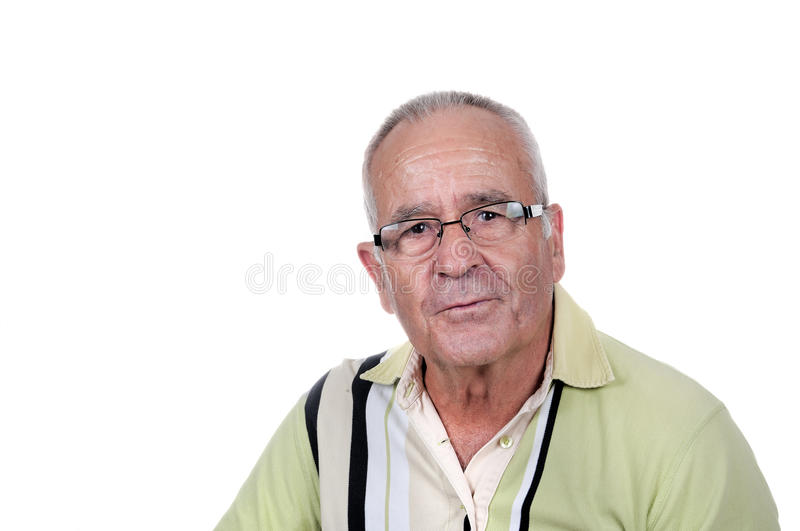Retired Old Man Royalty Free Stock Photo