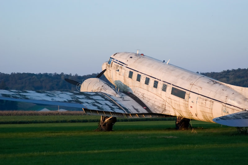 Download Retired Plane stock photo. Image of deteriorating, retired - 267764