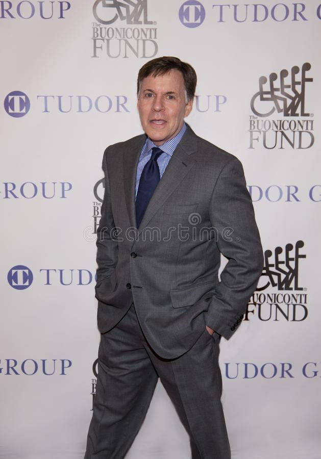 Bob Costas. Retired sportscaster and commentator, Bob Costas attends the 33rd Annual Great Sports Legends Dinner, at the New York Hilton Midtown on Sept. 24 royalty free stock photo
