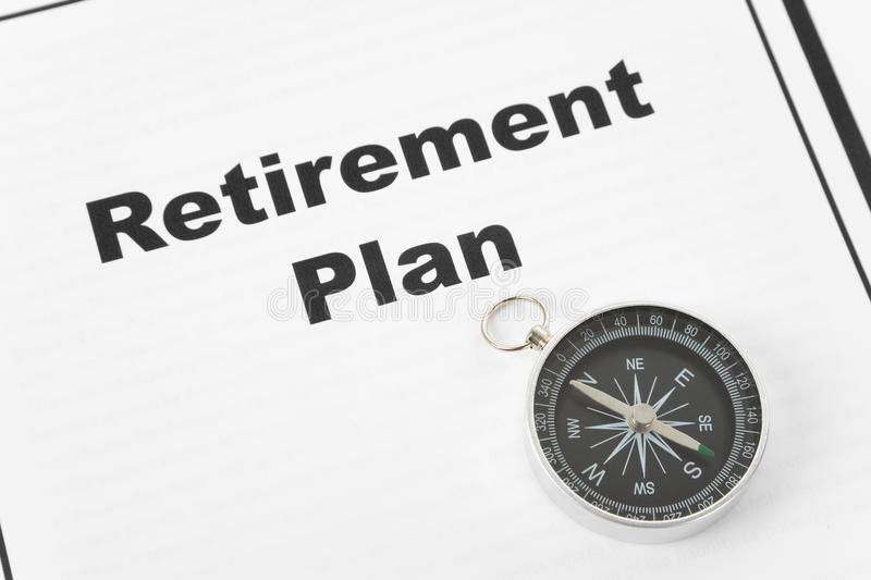 Retirement Plan royalty free stock photography