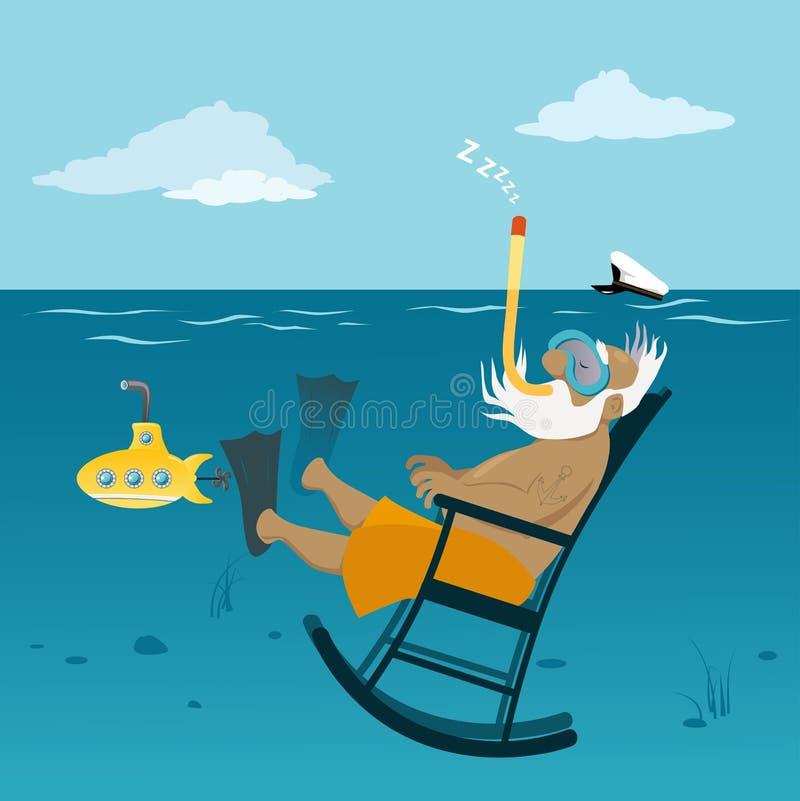 Download Retirement Stock Vector. Image Of Submarine, Retirement   68116201