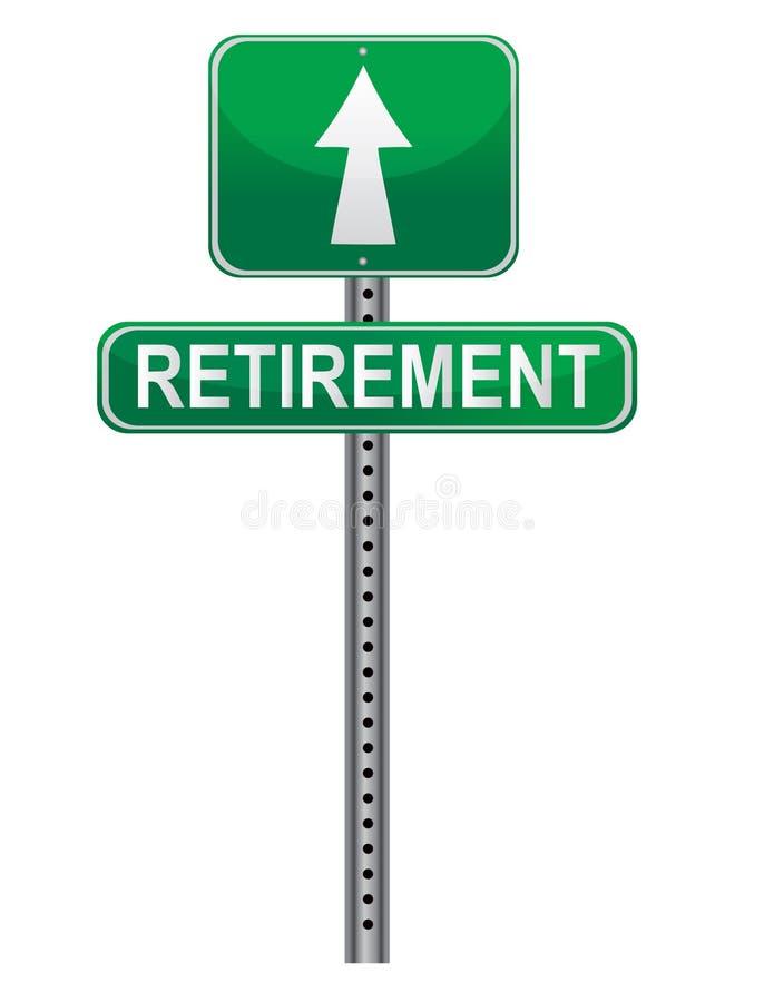 Retirement Street sign