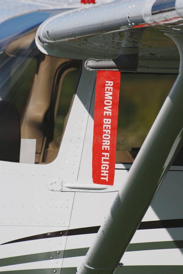 Retirez avant bande de vol photos stock