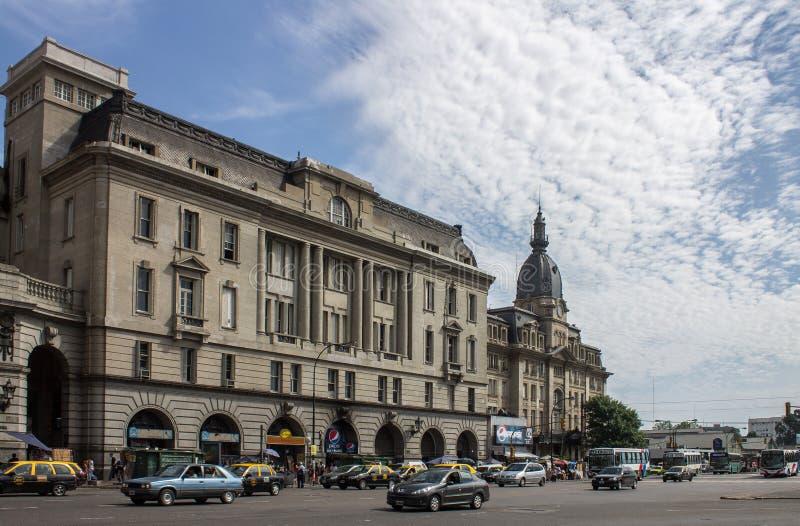 Retiro drevstation Buenos Aires Argentina royaltyfri foto