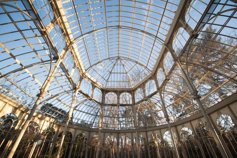 Retiro Madrid di Parque de Buen immagini stock libere da diritti
