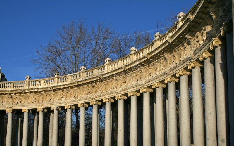 Retiro monument royalty free stock photo