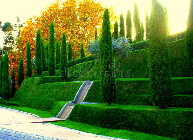 Retiro park royalty free stock images