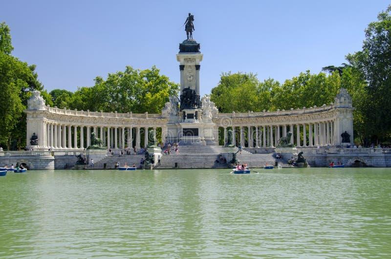Retiro Park Lake, Madrid