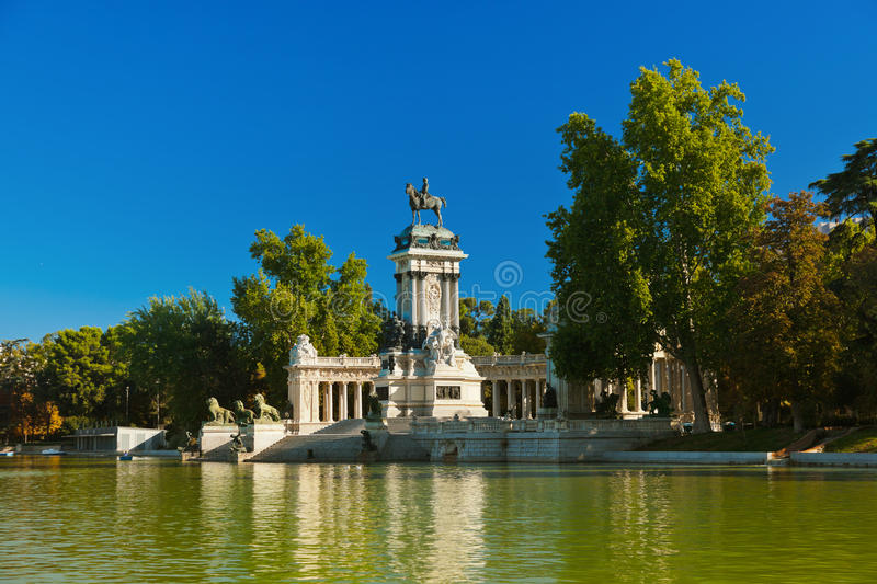 Download Retiro Park In Madrid Spain Stock Photo - Image of destination, alfonso: 29495716