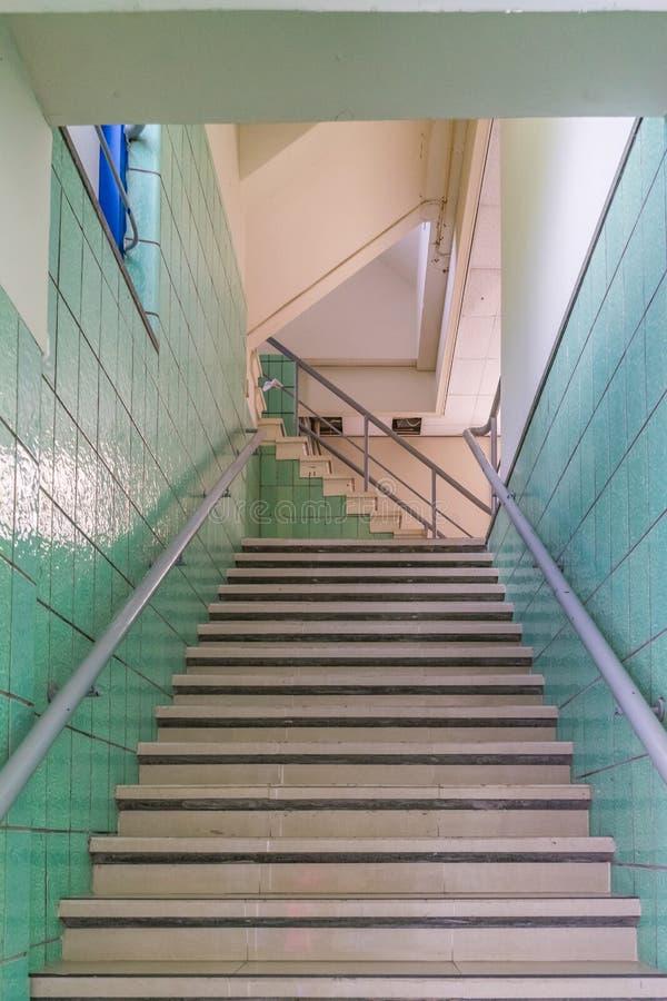 Retoi schodków Curacao widoki zdjęcie stock