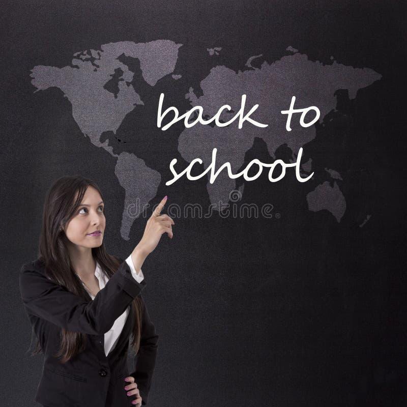 Retorne à escola fotos de stock royalty free