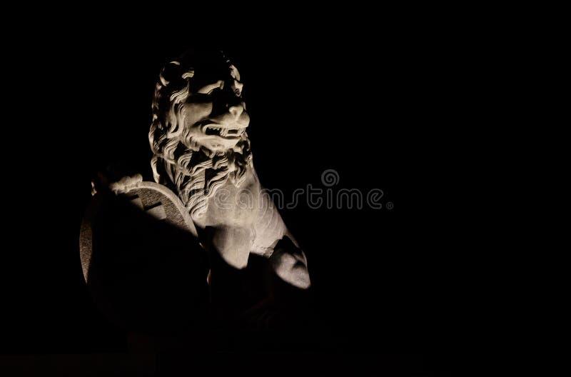 Retour des lions à la porte Ypres de Menin photographie stock