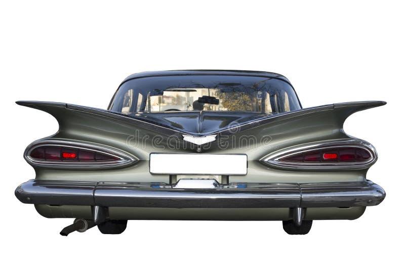 Retrò american car automobile limousine royalty free stock photo