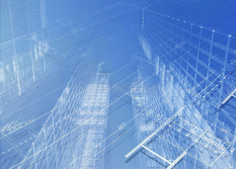 Retrait architectural illustration libre de droits