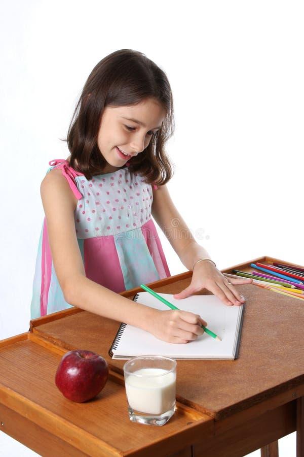 Retrait de jeune fille/enfant images libres de droits
