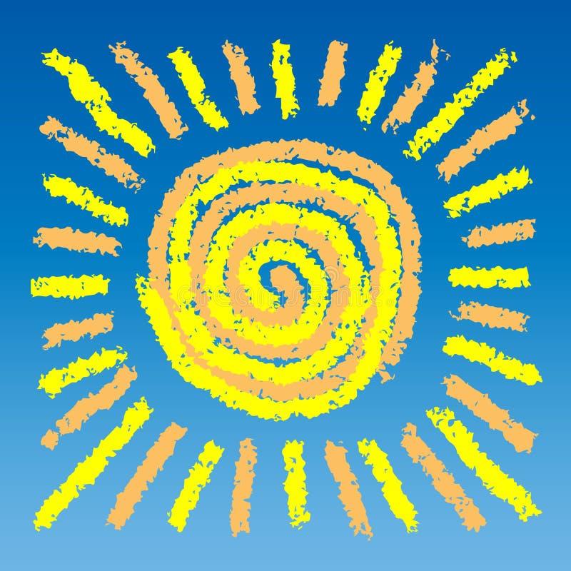 Retrait du soleil photographie stock libre de droits