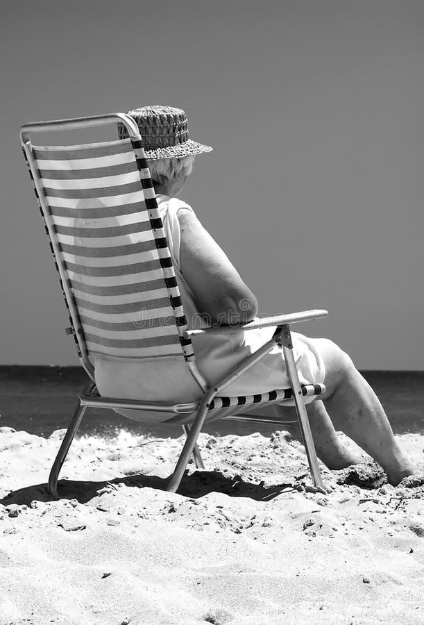 Download Retraite photo stock. Image du fatigué, durée, océan, sommeil - 80034