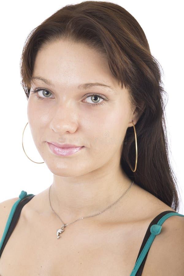 Retrato 2 de la señora joven foto de archivo