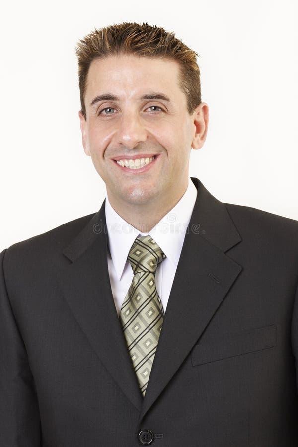 Retrato 4 do homem de negócios fotografia de stock royalty free