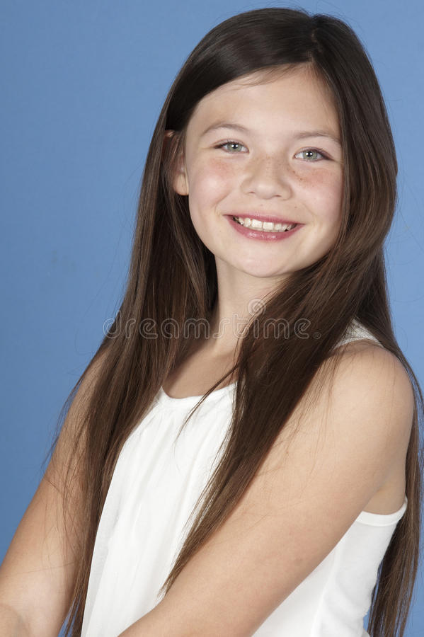 Retrato adolescente da menina imagens de stock royalty free