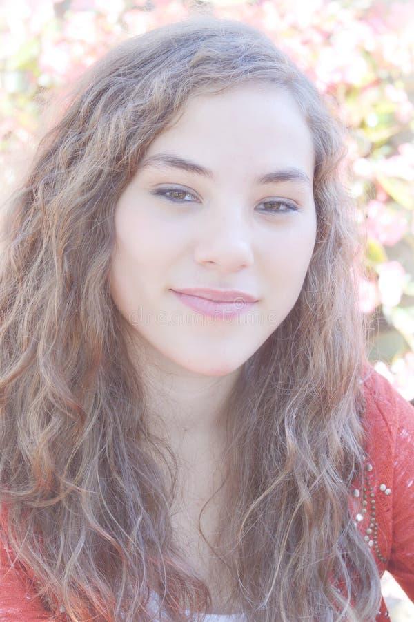 Retrato adolescente de la muchacha imágenes de archivo libres de regalías