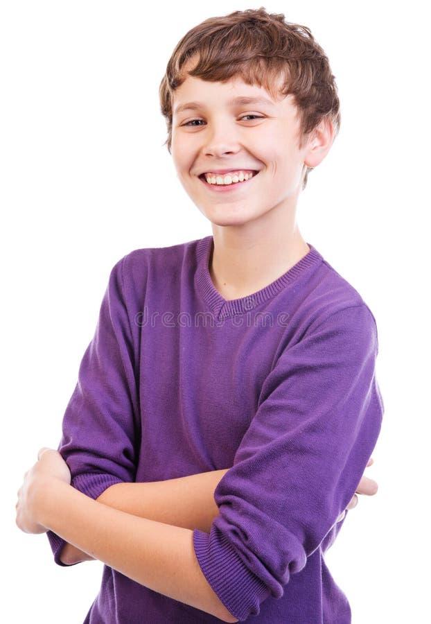 Retrato adolescente feliz imagem de stock royalty free