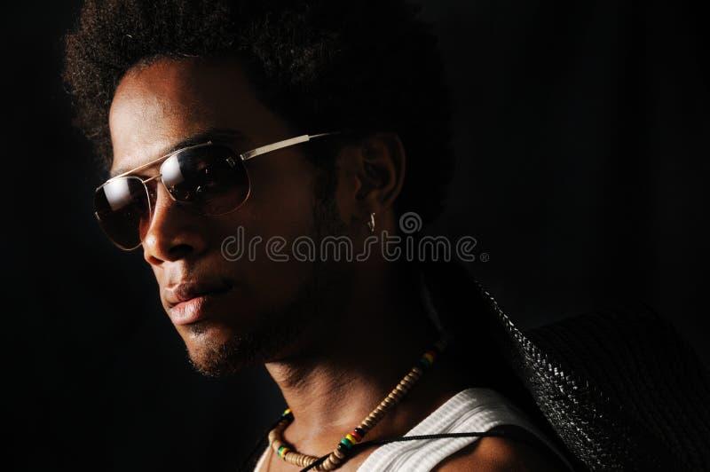 Retrato africano do homem imagens de stock royalty free