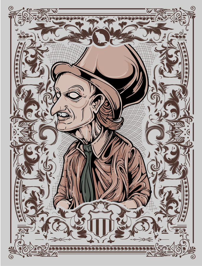 Mago malvado libre illustration