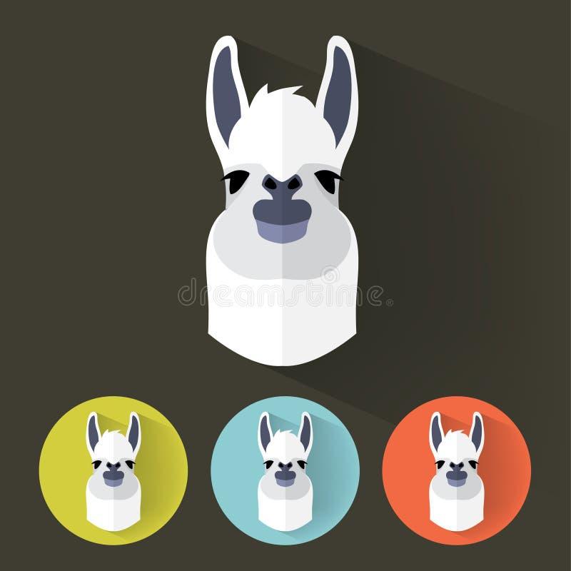 Retrato animal ilustración del vector