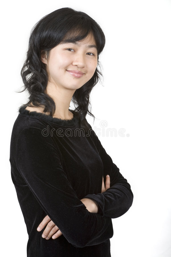 Retrato asiático 1 imagens de stock
