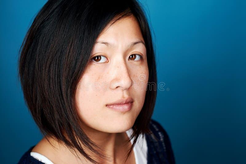 Retrato asiático da mulher fotos de stock